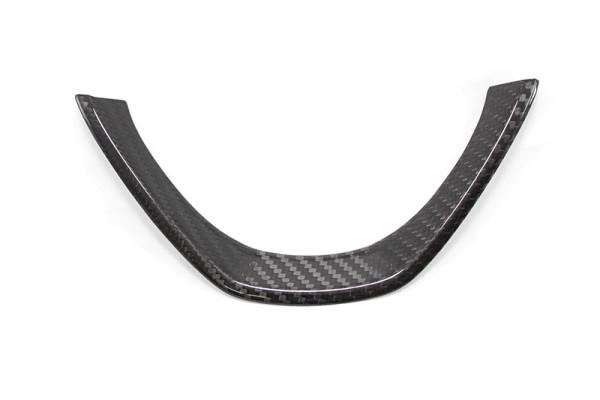 Carbon fiber steering wheel trim BMW E70 X6