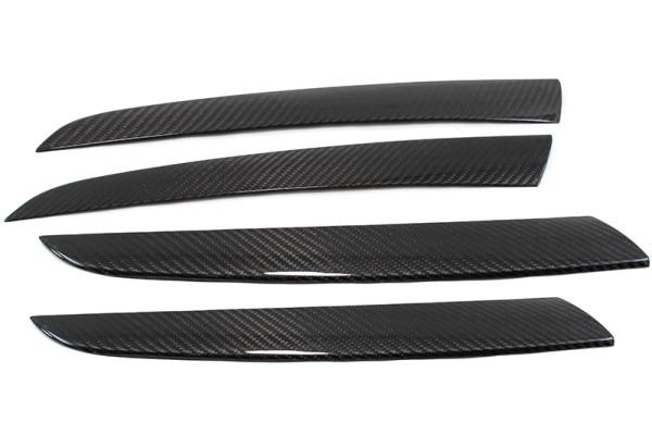 Carbon fiber BMW X6 door trim kit covers