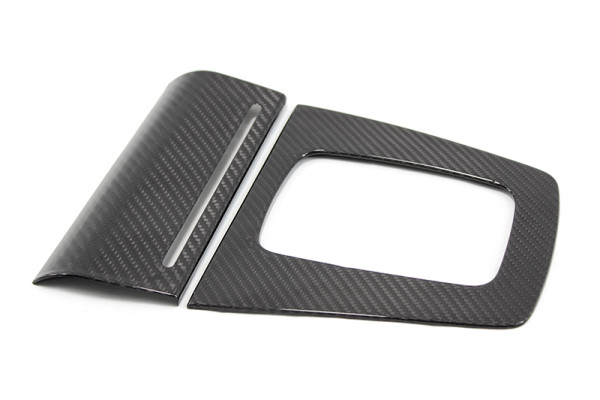 Carbon fiber Audi A4 gear-box frame cover and tray cover