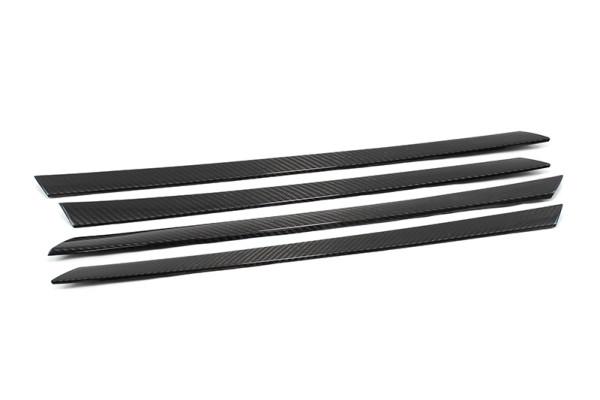 Carbon fiber BMW E71 X6 silver part door trim cover