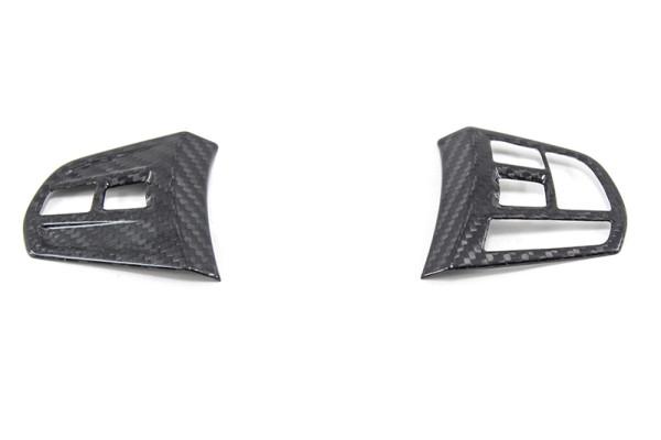 Carbon fiber BMW F20 / F21/ F30 / F31/ F34 / GT / F35 multi-funct. steering wheel cover