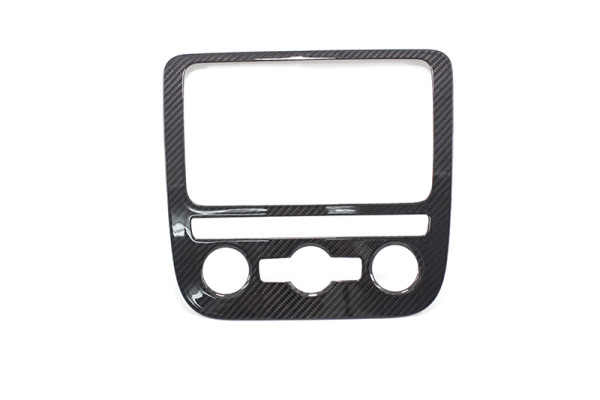 Carbon fiber VW Golf 5 Scirocco EOS center switch console cover