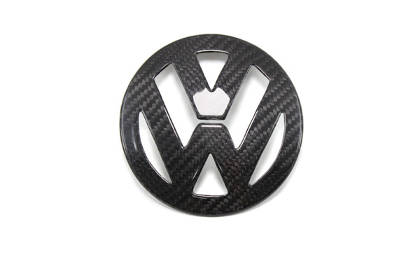 Carbon fiber VW Golf 5 mk5 emblem cover