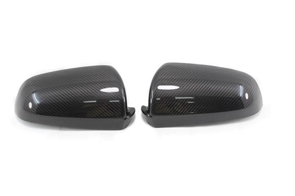 Carbon fiber AUDI A4 mirror caps