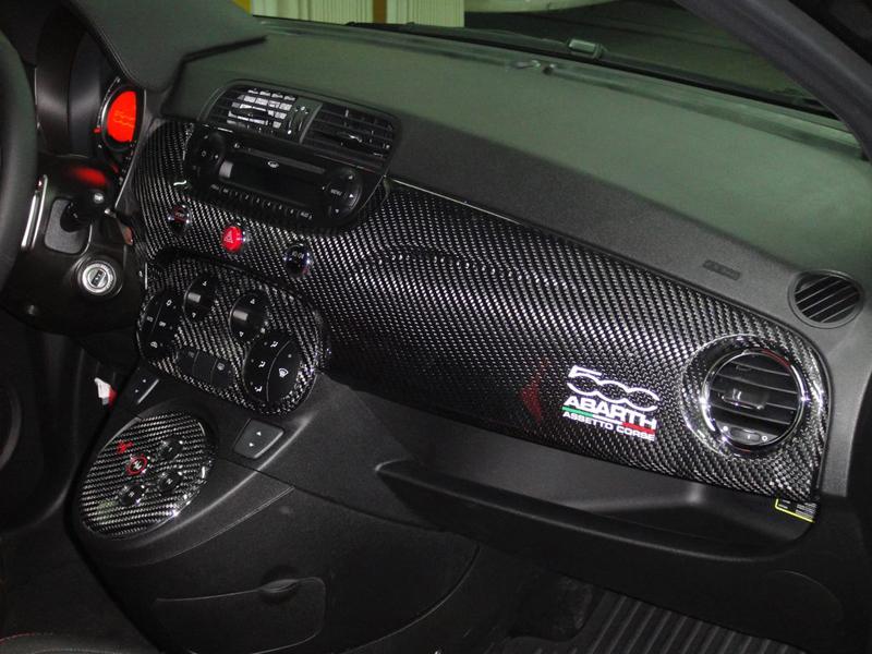 Carbon Fiber Fiat 500 Abarth Dashboard Koshi Group Llc