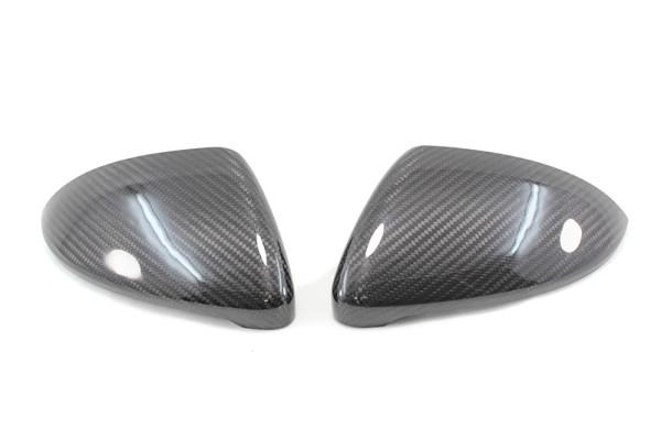 Carbon fiber VW Golf 7-GTI-R mirror caps
