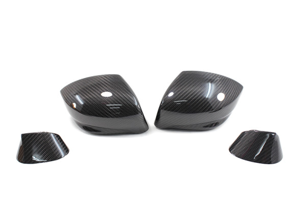 Carbon fiber NISSAN GT-R mirror caps