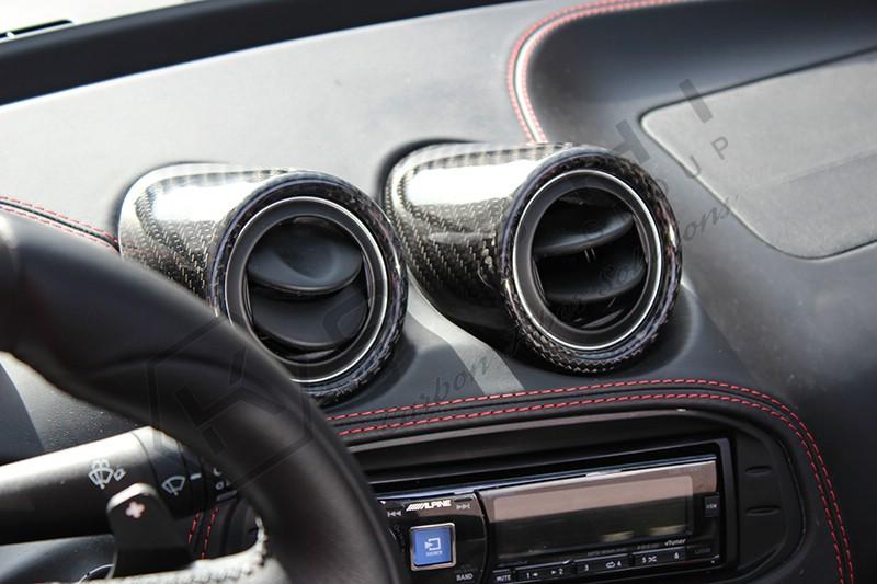 carbon fiber alfa 4c interior air vent koshi group llc. Black Bedroom Furniture Sets. Home Design Ideas