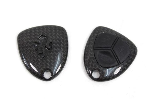 Carbon fiber Ferrari fob remote key