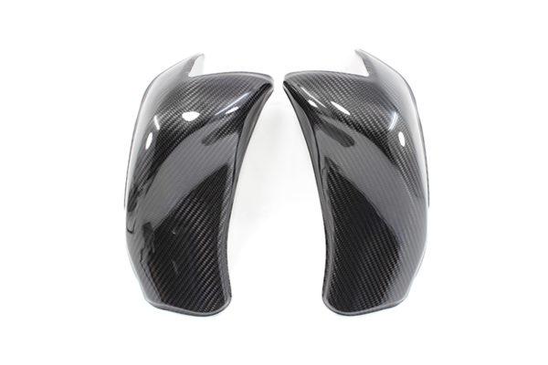 Carbon fiber tank side covers for Kawasaki Z1000