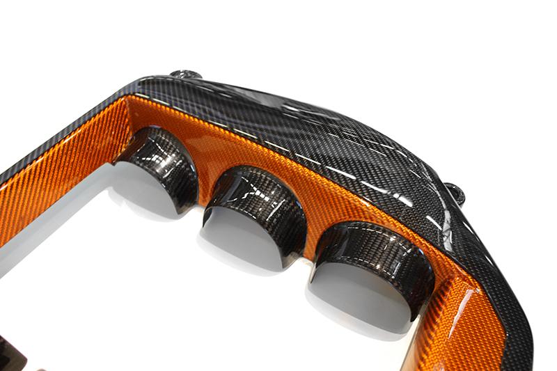 orange black combo carbon fiber nissan gtr cover engine sku ngtr 007ob koshi group llc. Black Bedroom Furniture Sets. Home Design Ideas