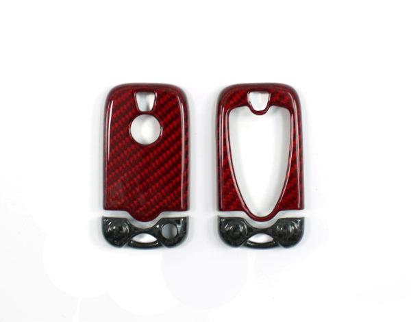 Carbon fiber Alfa Romeo 159 key fob cover frame BRERA