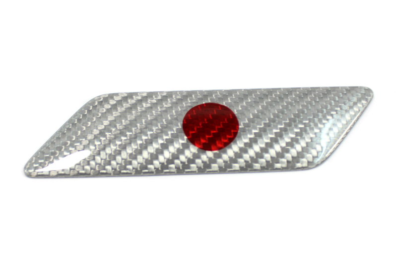 Carbon fiber Japan flag fender